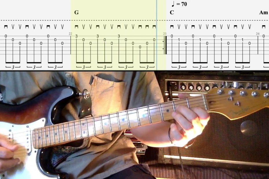 The Cranberries - 5 Arpeggios Tutorial (Ode to my Family, Dreams, I Can't be with You...)