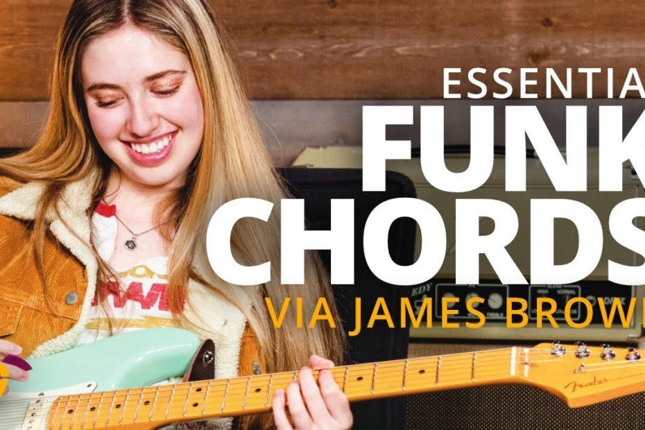 The ESSENTIAL Funk Chords via James Brown (Ayla Tesler-Mabe)
