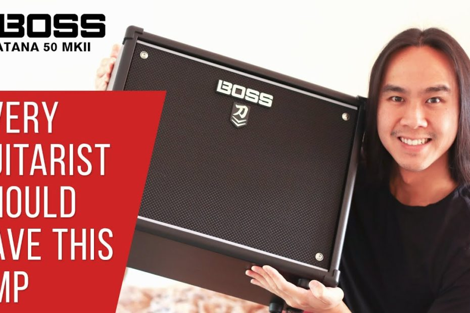 THE HYPE IS REAL   Boss Katana 50 MKII In-Depth Review & Demonstration