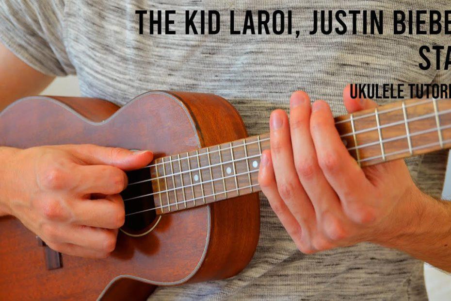 The Kid LAROI, Justin Bieber - Stay EASY Ukulele Tutorial With Chords / Lyrics