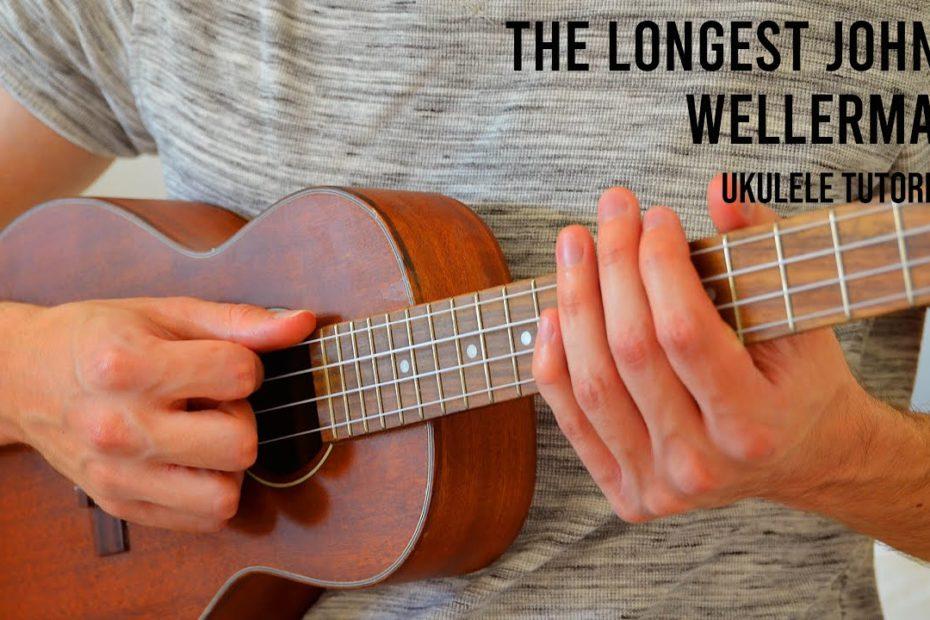 The Longest Johns - Wellerman EASY Ukulele Tutorial With Chords / Lyrics