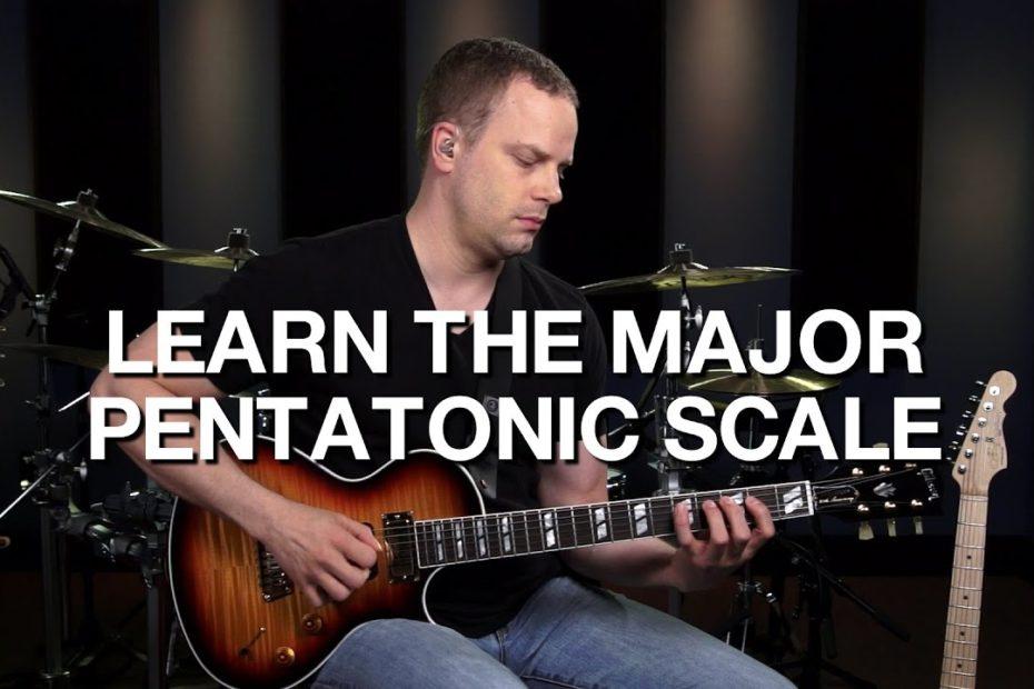 The Major Pentatonic Guitar Scale - Lead Guitar Lesson #4
