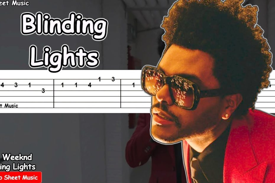 The Weeknd - Blinding Lights Guitar Tutorial