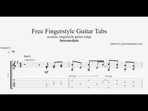TOP 10 Free Fingerstyle Guitar Tabs 2021 (PDF + Guitar Pro)