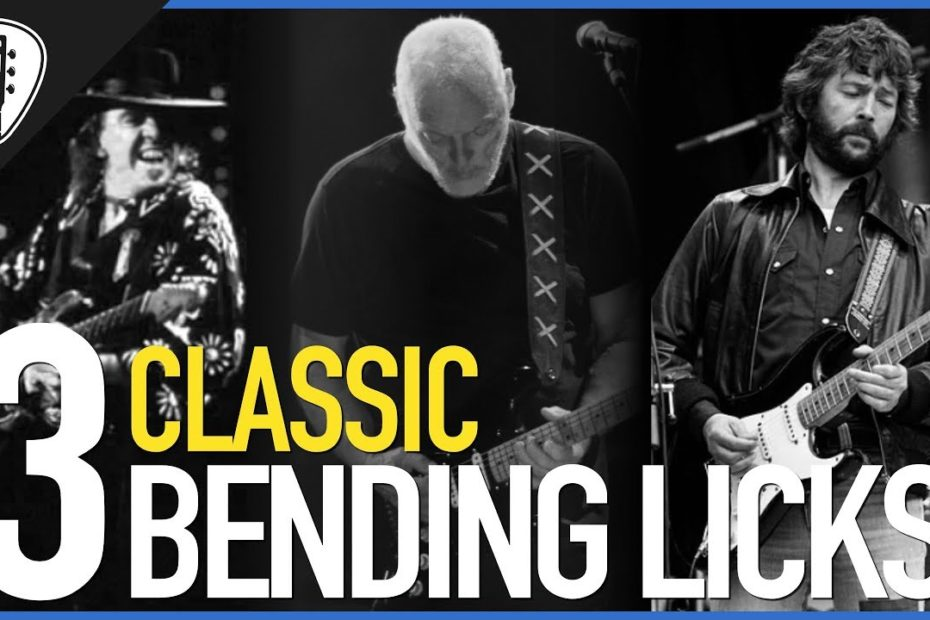 Top 3 Classic Bending Licks (w/ TABS) - Guitar Lesson