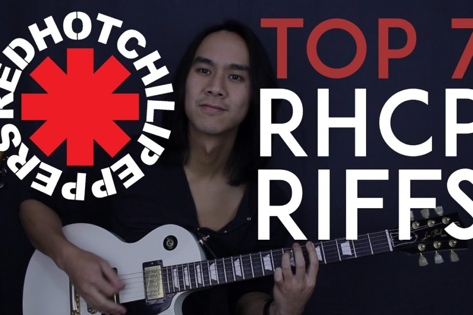 Top 7 Red Hot Chili Peppers Guitar Riffs - Guitar Tutorial Lesson