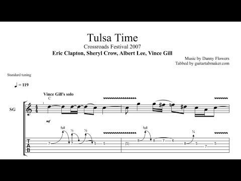 Tulsa Time solo TAB - live at Crossroads 2007 - PDF - Guitar Pro