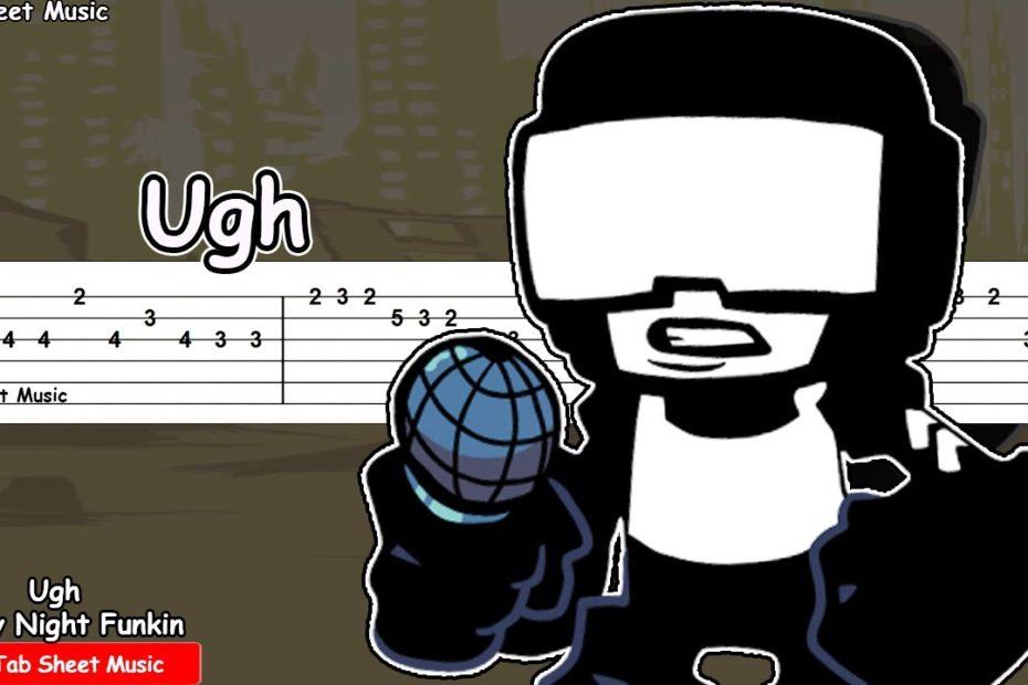 Ugh - Friday Night Funkin' Guitar Tutorial | TAB