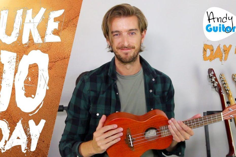 Ukulele Lesson 4 - More Easy Songs for Ukulele - FREE 10 Day Starter Course
