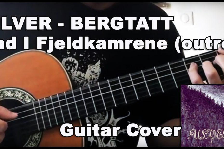 Ulver - Ind I Fjeldkamrene outro (Guitar Cover + Tab)