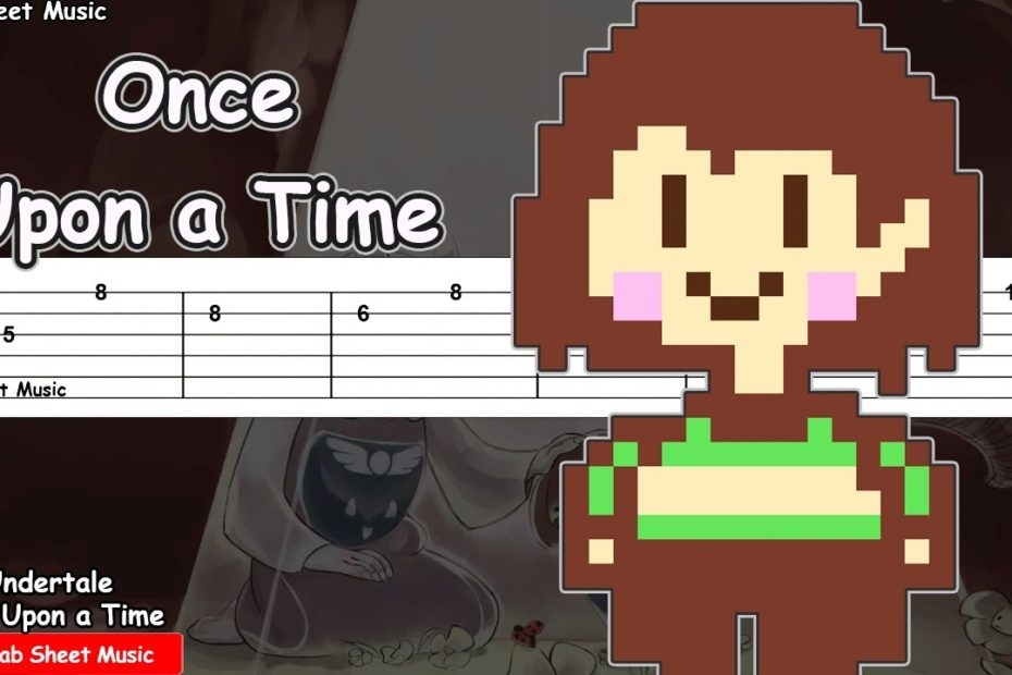 Undertale OST - Once Upon A Time Guitar Tutorial