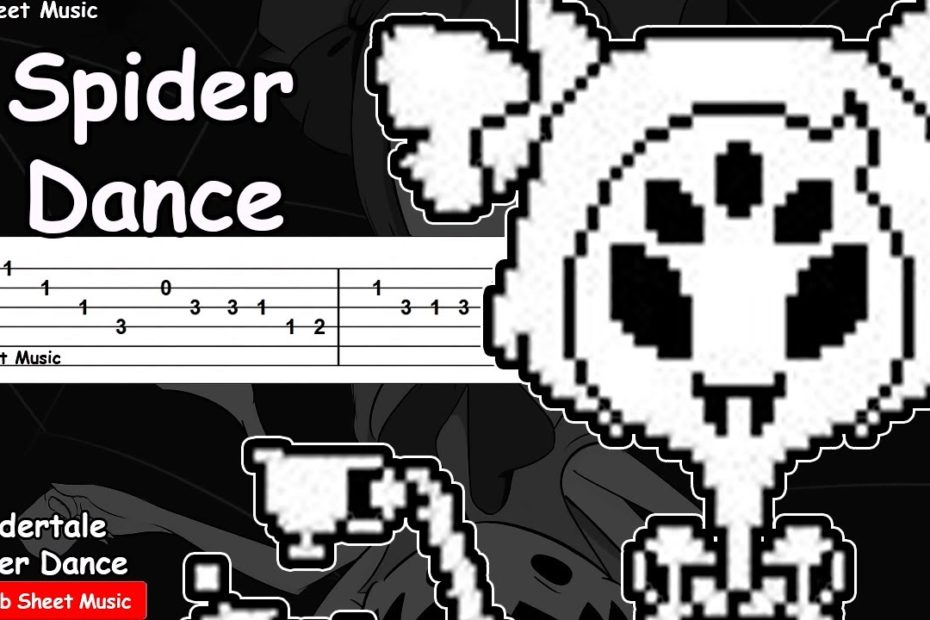 Undertale - Spider Dance Guitar Tutorial
