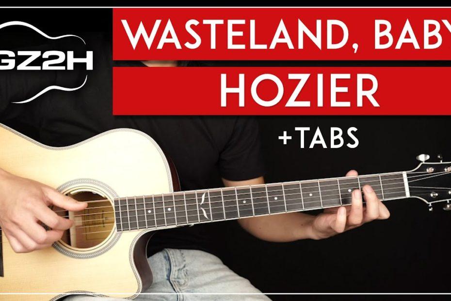 Wasteland, Baby! Guitar Tutorial Hozier Guitar Lesson |Fingerpicking|