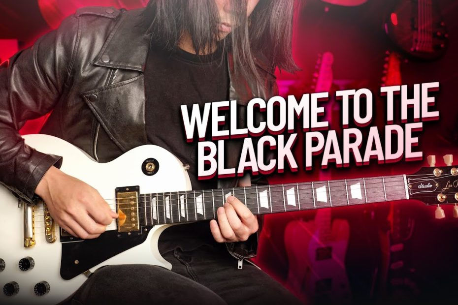 Welcome To The Black Parade Guitar Cover - My Chemical Romance