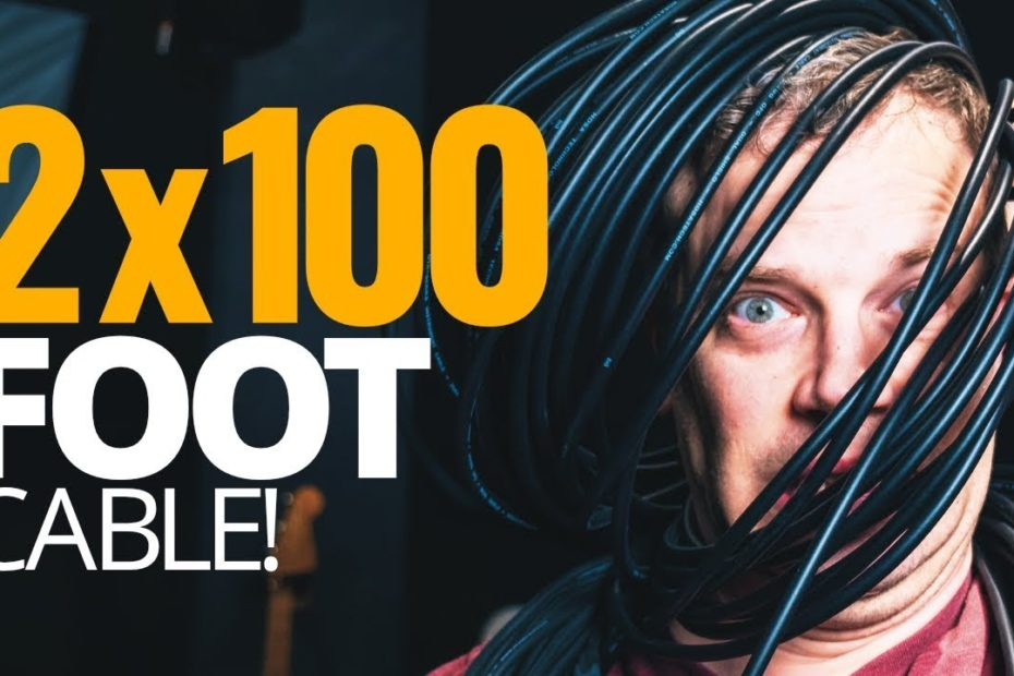 What does 200' of cable do to your guitar tone?