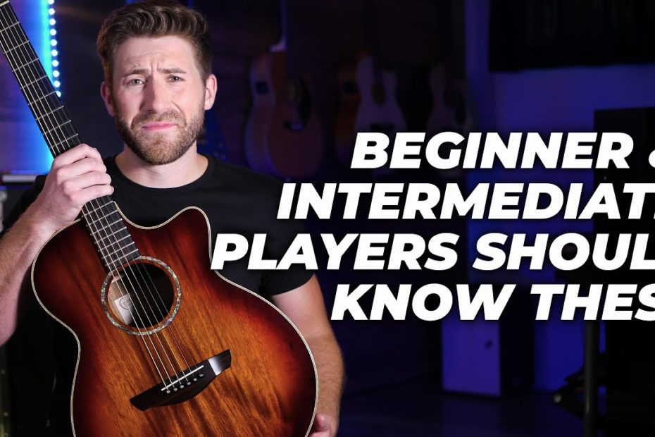 What I Wish I Knew In My First Year Of Guitar Playing