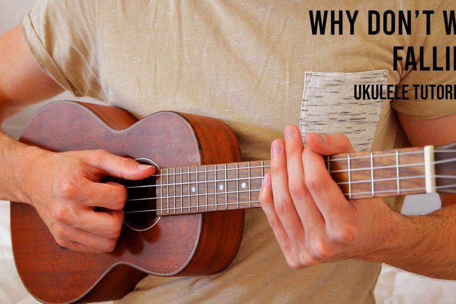 Why Don't We - Fallin' EASY Ukulele Tutorial With Chords / Lyrics