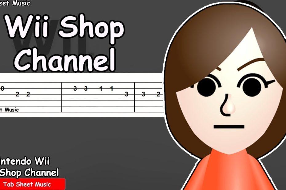 Wii Shop Channel Theme - Guitar Tutorial