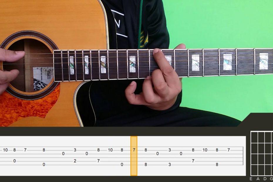 Yiruma - River Flows In You Guitar Tutorial Part 2 [RAW]