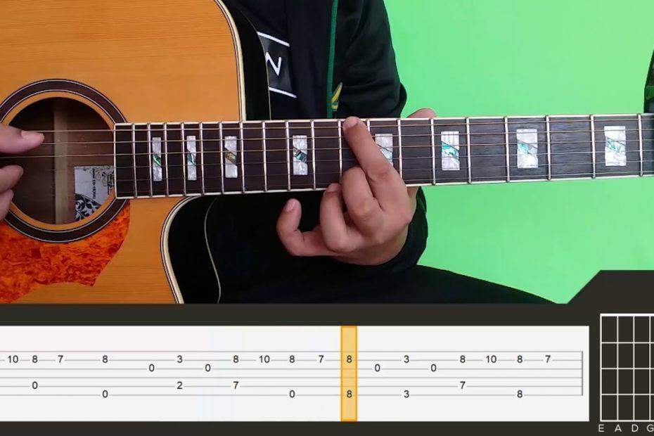 Yiruma - River Flows In You Guitar Tutorial Part 1[RAW]
