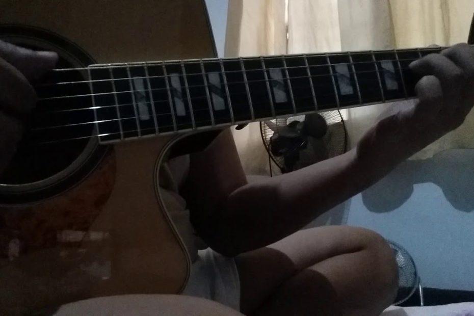 Yiruma - River Flows In You Guitar COVER *NEXT TUTORIAL