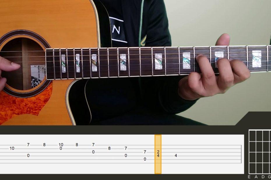 Yiruma - River Flows In You Guitar Tutorial Part 3
