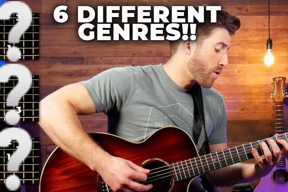 You'll never believe what you can play with JUST THESE 3 CHORDS
