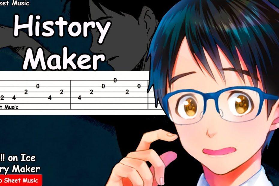Yuri!!! on Ice OP - History Maker Guitar Tutorial