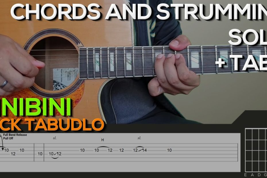 Zack Tabudlo - Binibini Guitar Tutorial [SOLO, CHORDS AND STRUMMING]