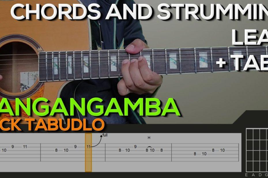 Zack Tabudlo - Nangangamba Guitar Tutorial [CHORDS AND STRUMMING, LEAD + TABS]