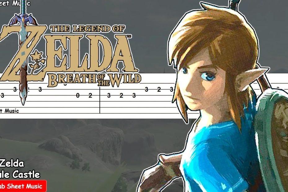 Zelda: Breath of the Wild - Hyrule Castle Guitar Tutorial