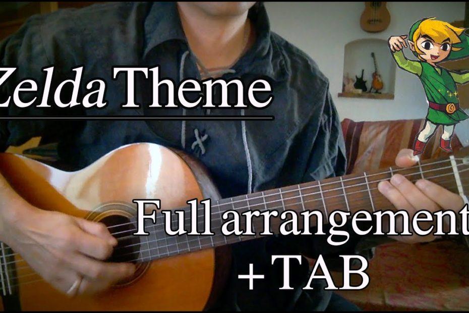 Zelda Main Theme - Full Guitar Arrangement + TAB