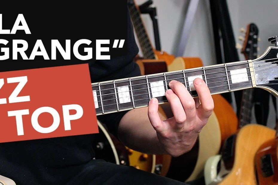 """ZZ Top """"La Grange"""" Guitar Lesson Tutorial - how to play like Billy Gibbons!"""